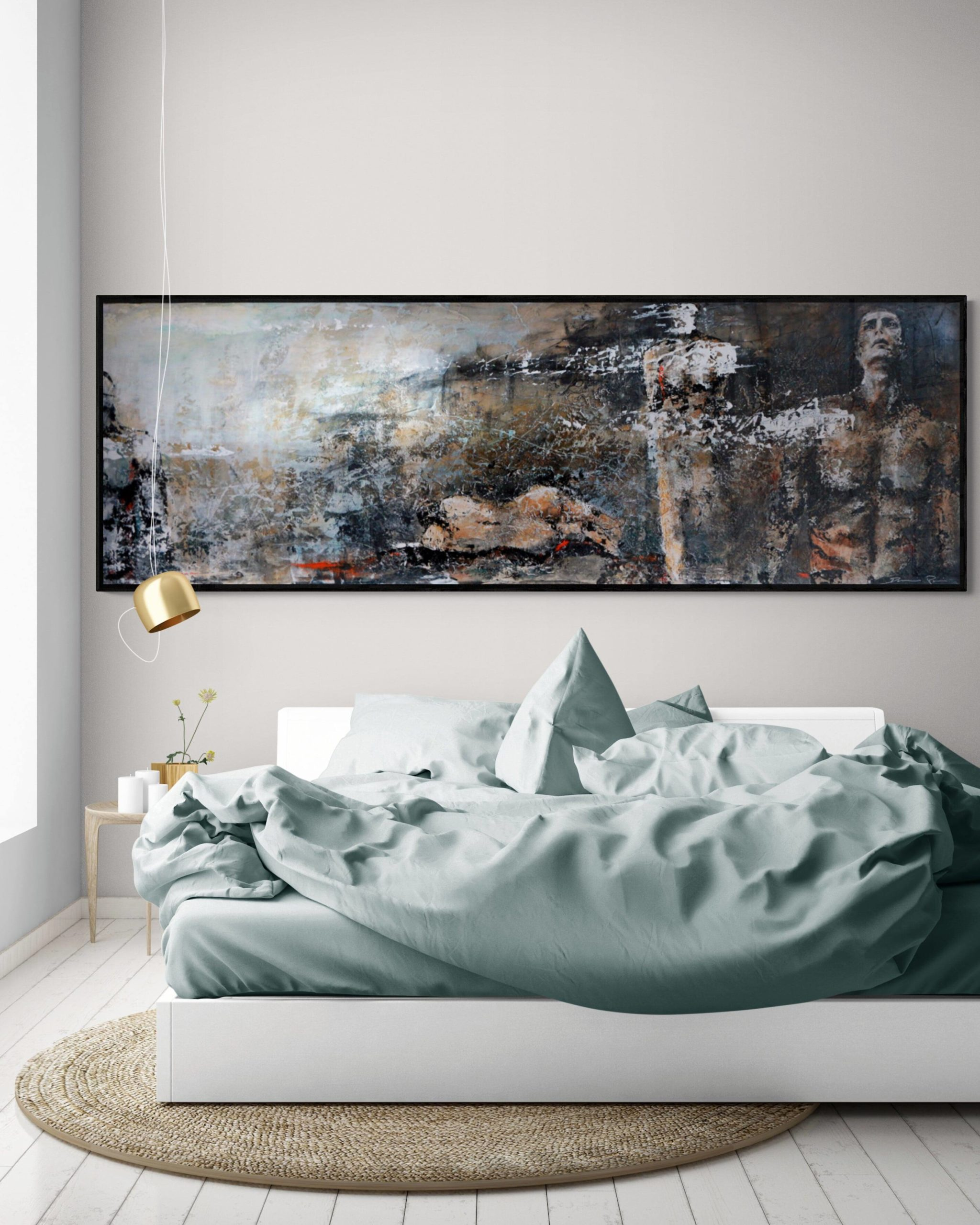 Brumes peinture acrylique Damien Rais 1