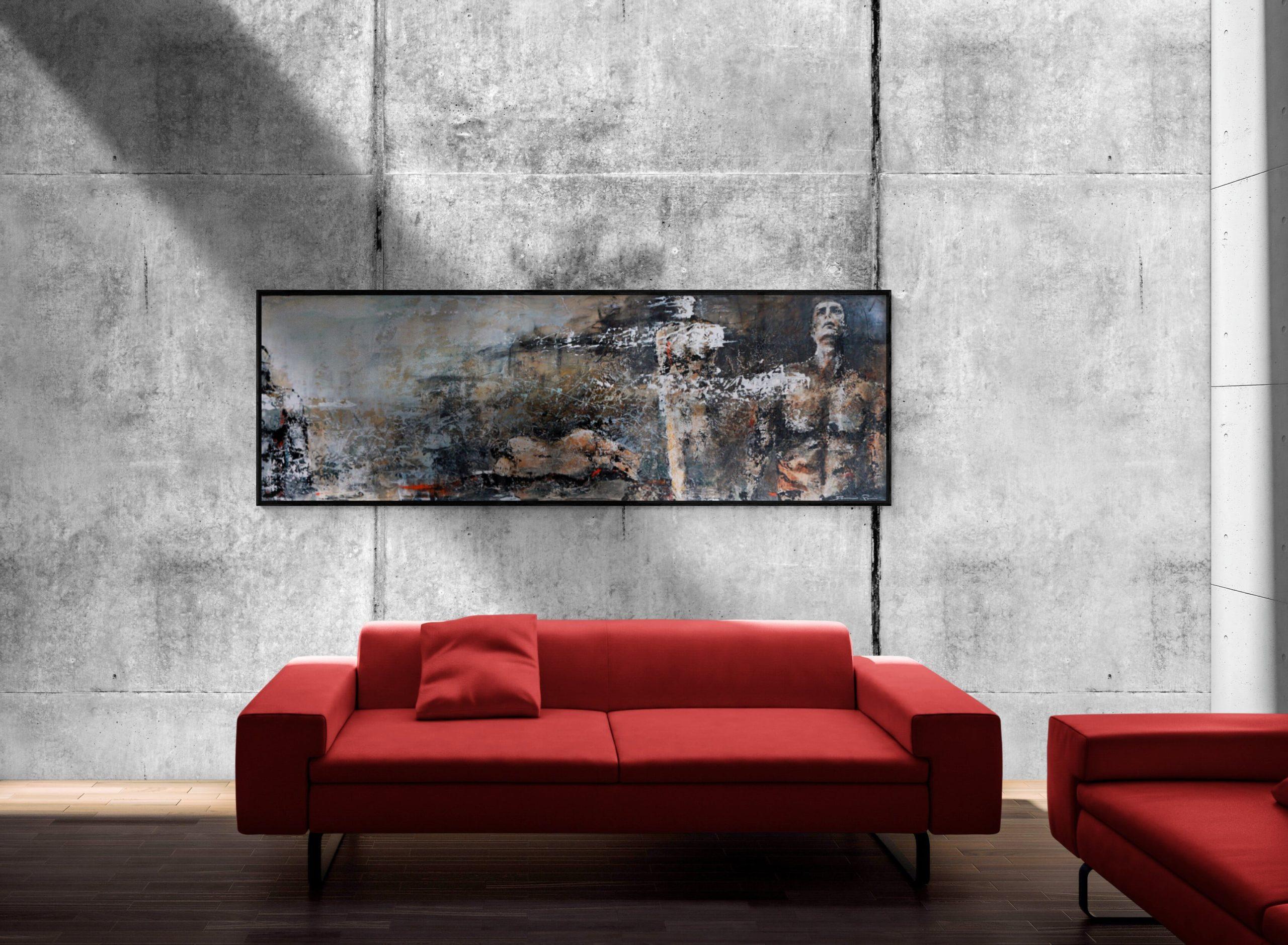 Brumes peinture acrylique Damien Rais 2