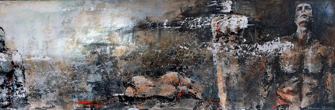 Brumes peinture acrylique Damien Rais 3